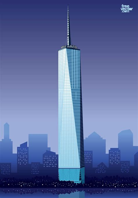 40 One World Trade Center, New York, US. Images