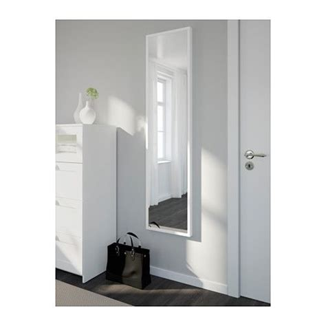 $40. Use for closet doors....STAVE Mirror   white, 15 3 ...