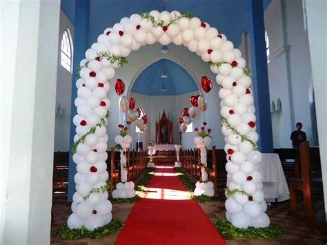 43 Ideas para decorar la iglesia para una boda   Globos ...