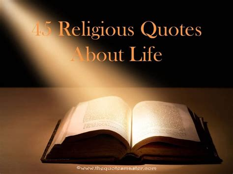 45 Religious Quotes About Life