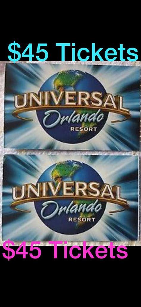 $48 Universal Tickets for Sale in Orlando, FL   OfferUp