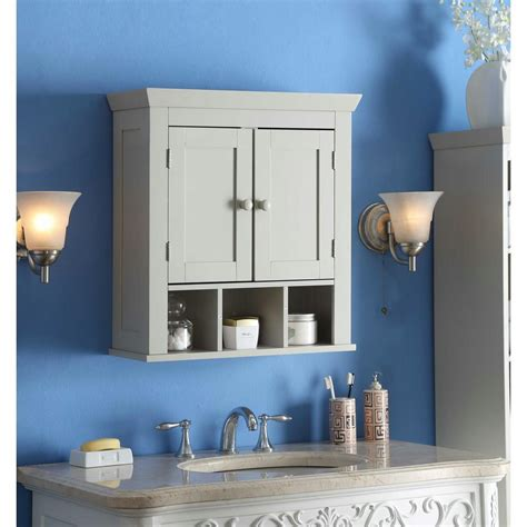 4D Concepts Rancho 22.4 in. W Wall Cabinet in Vanilla ...