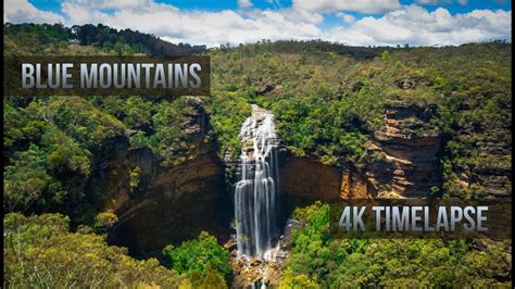 4K UltraHD Timelapse   Blue Mountains Australia // Tjoez ...