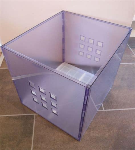 4x Ikea Box LEKMAN for ideal for Kallax/Expedit Shelves ...