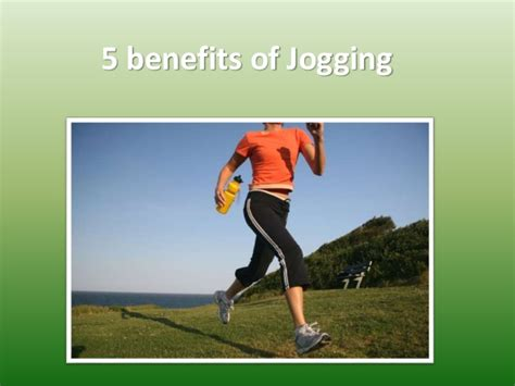 5 benefits of jogging