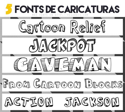 5 Fonts de Caricaturas Gratis » Regardis