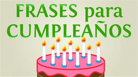5 frases bonitas para cumpleaños felices   YouTube