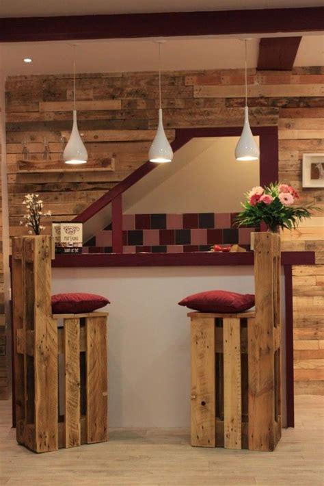 5 ideas de sillas de bar de palets   Muebles hechos con ...