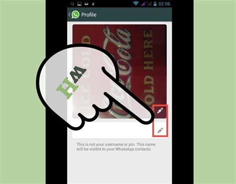 5 manières de modifier votre profil sur WhatsApp