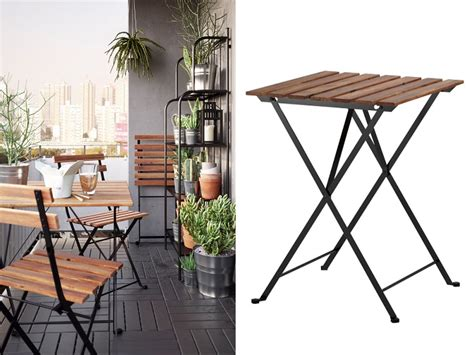 5 mesas de jardín Ikea plegables: las más prácticas