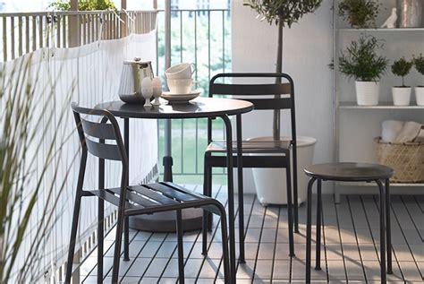 5 muebles para balcón IKEA que querrás este verano