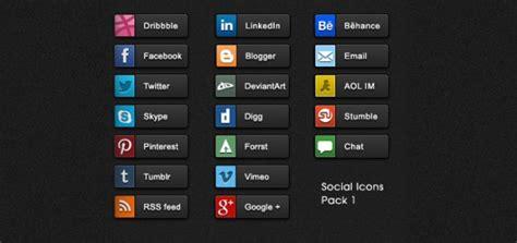 5 Nuevos paquetes de mini iconos de redes sociales   Frogx ...