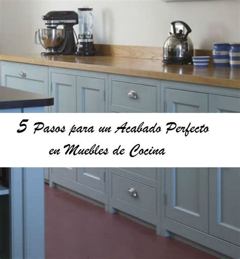 5 Pasos para Pintar los Muebles de Cocina   www ...