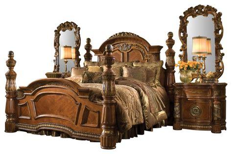 5 Piece Villa Valencia California King Bedroom Set ...