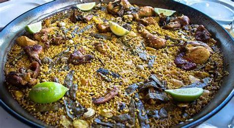 5 platos típicos de Valencia   Comida típica de Valencia