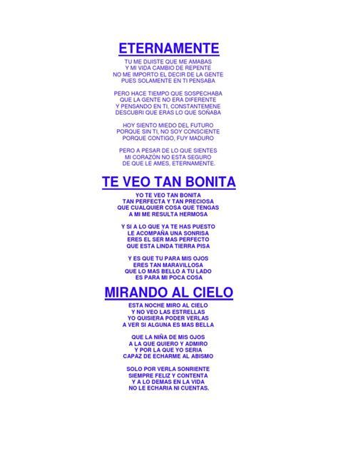 5 Poemas Del Romanticismo y Del Modernismo