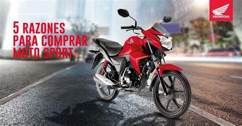 5 Razones para comprar moto sport en lugar de carro ...