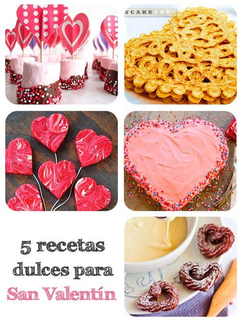 5 recetas dulces para San Valentín | Pequeocio.com