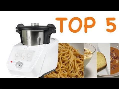 5 recetas facilísimas para empezar con Monsieur Cuisine ...