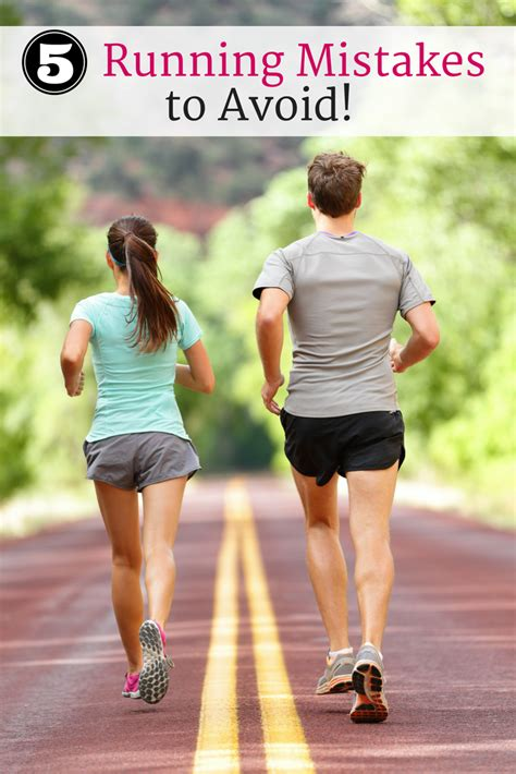 5 Running Mistakes that Beginners Should Avoid   Running ...