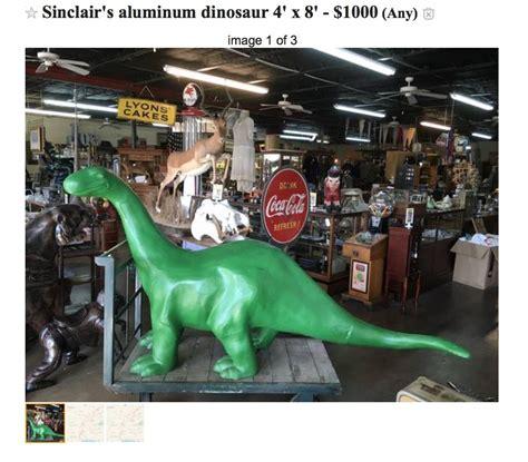 5  Sinclair Dino. Craigslist in Louisiana   Alpina   Waste ...