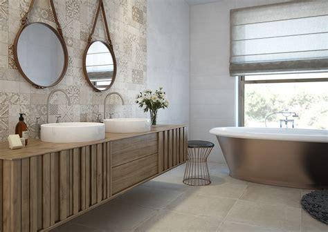 5 suelos para el cuarto de baño decorativos y prácticos