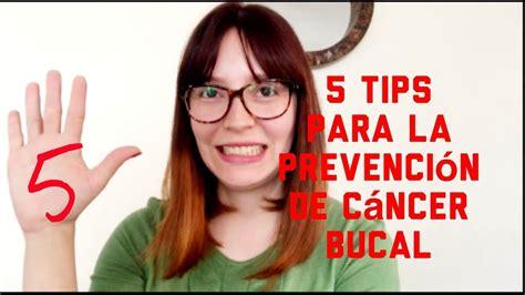 5 tips para prevenir el cáncer bucal   YouTube