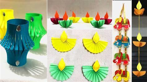 5 Very Easy Diwali Decoration Ideas 2018 | DIY Home Decor ...