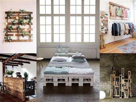50 fantásticas ideas de muebles con palets reciclados