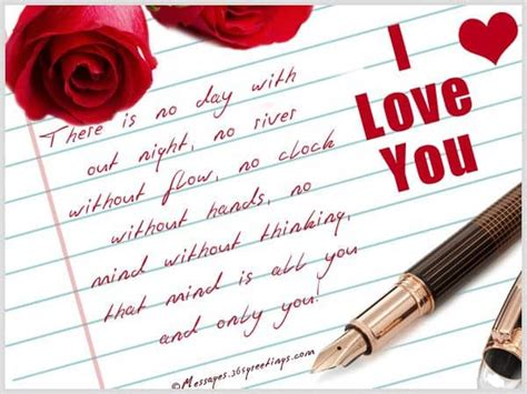 50 Romantic Short Love Notes for Her   Notes for Her