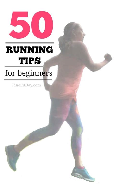 50 Running Tips for Beginners   Fine Fit Day