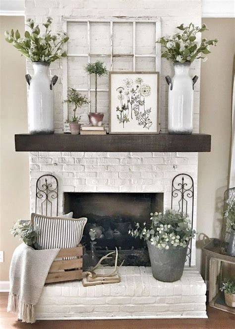 50 Simple Beauty Spring Mantel Decoration Ideas On A ...