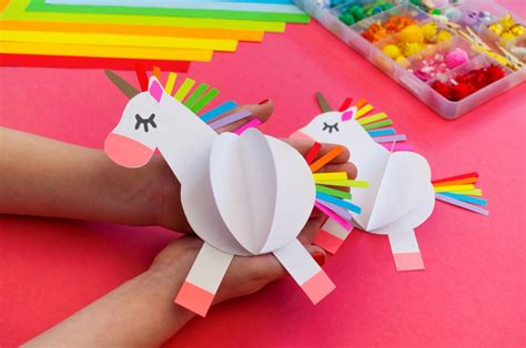 52 Awesome DIY Unicorn Crafts For Kids   Kids Love WHAT
