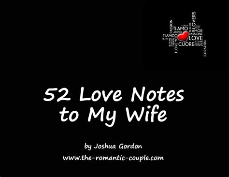 52 love notes book cover   The Intimate Couple