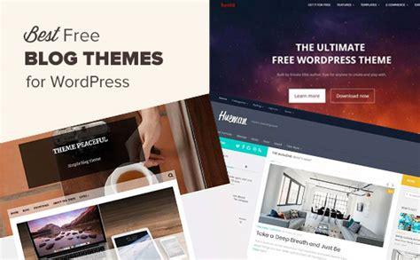 53 Best Free WordPress Blog Themes for 2018