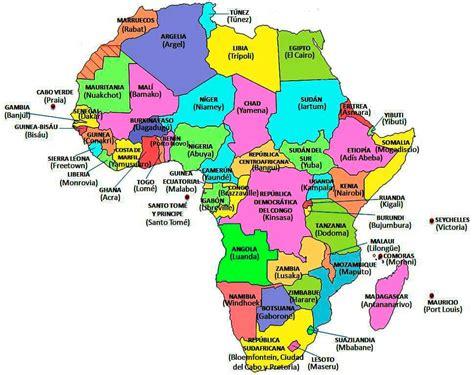 54 Países de áfrica y sus capitales   Lista   Mapa   Vídeo