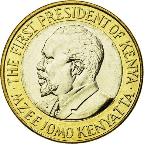 [#588043] Moneda, Kenia, 10 Shillings, 2005, British Royal ...