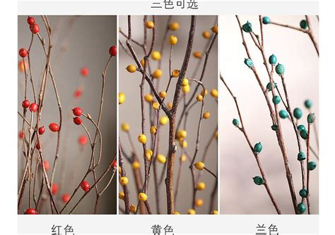 5pcs decorative dried tree branches dried tree branches ...
