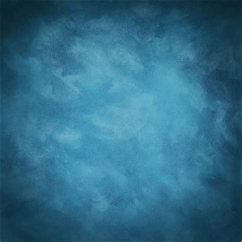5X7ft Vintage Blue Art Cloudy Studio Vinyl Photography ...
