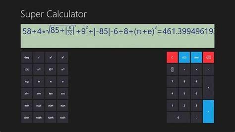 6 best Windows 10, Windows 8 Calculator apps to download