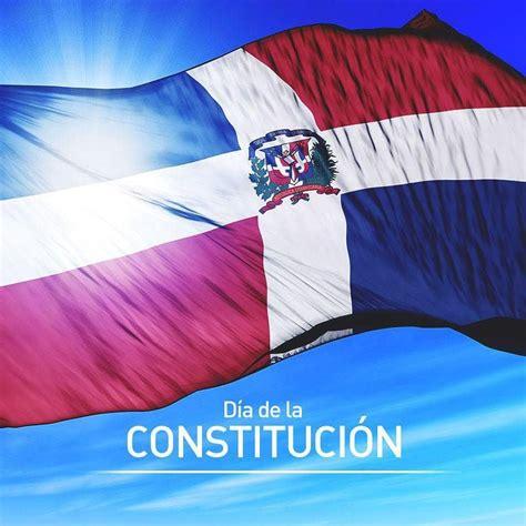 6 de noviembre día de la Constitución Dominicana.