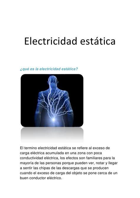 6 electricidad estática