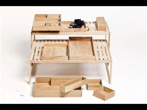 6 muebles de madera prácticos y originales   YouTube