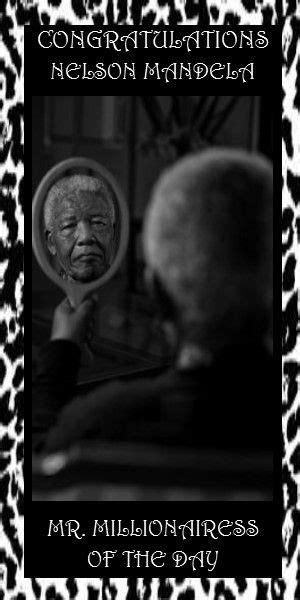 6  Nelson Mandela~ Born Rolihlahla Mandela, he is the ...