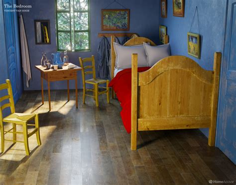 6 Rooms from Famous Paintings Brought to Real Life