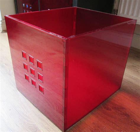 6 x red storage boxes, LEKMAN storage boxes, IKEA storage ...