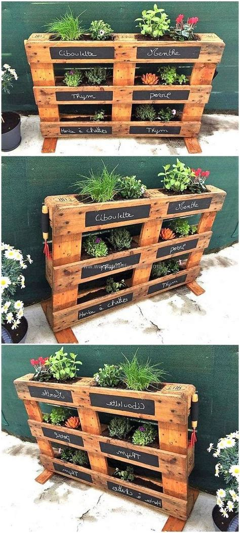 60 Amazing Creative Wood Pallet Garden Project Ideas # ...