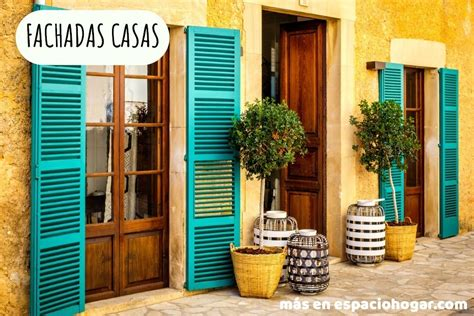 60 fotos e ideas de colores para fachadas de casas y ...