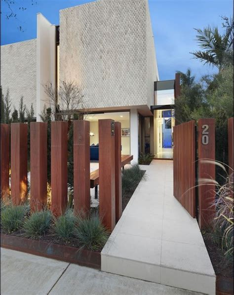60 Gorgeous Fence Ideas and Designs | Fence design, Modern ...
