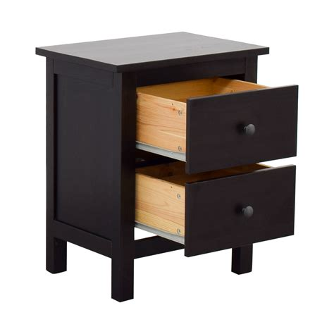 60% OFF   IKEA IKEA Hemnes Two Drawer Chest / Tables